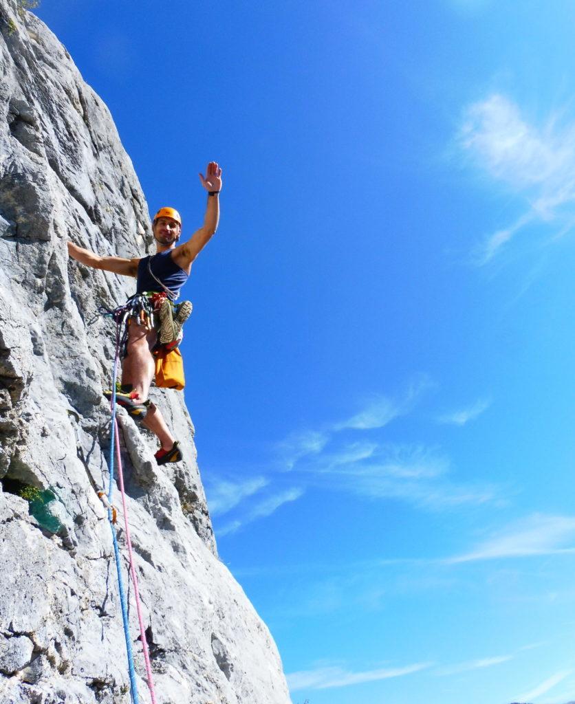les séjours d'escalade à Presles (38)