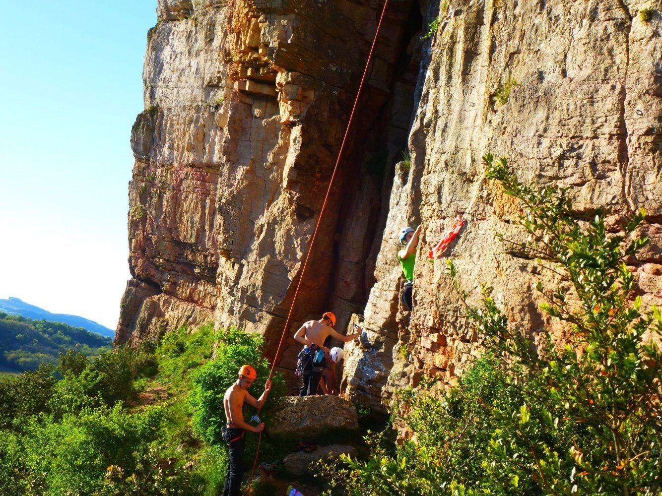 Escalade Lyon, escalade rhône alpes