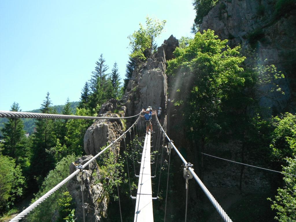 Viaferrata Lyon, escalade rhône alpes