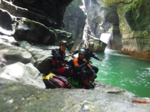 groupe adultes canyon