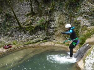 Canyon Ain saut